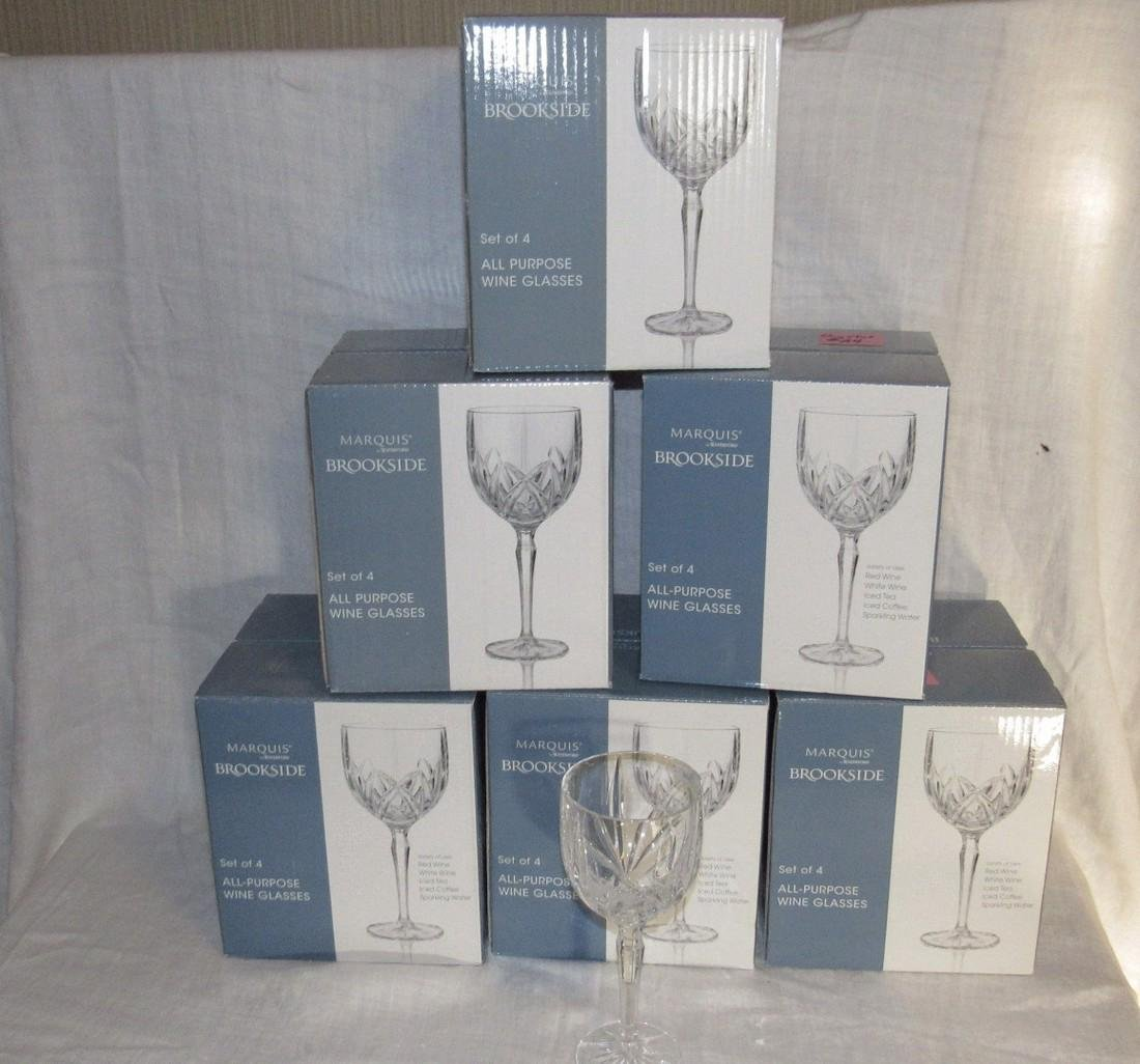 28 Waterford Marquis All Purpose Wine Glasses