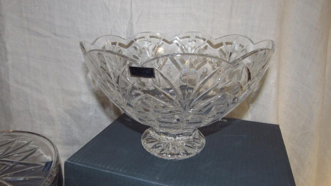 Marquis Waterford Crystal Cake Plate & Bowl - 2