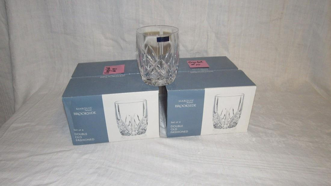 8 Marquis Waterford Brookside Crystal Glasses