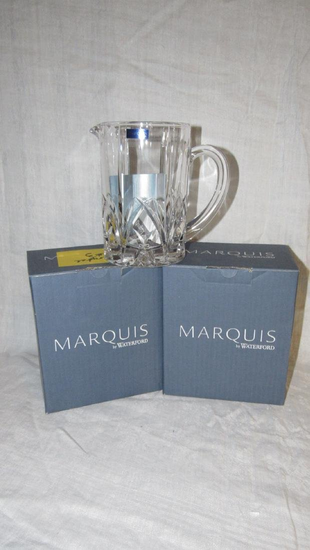 "2 Waterford Marquis Brookside 7"" Pitchers"