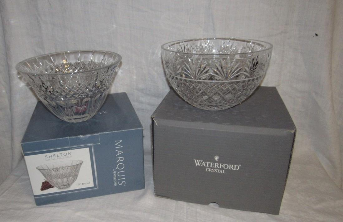 2 Waterford Crystal Bowls Shelton