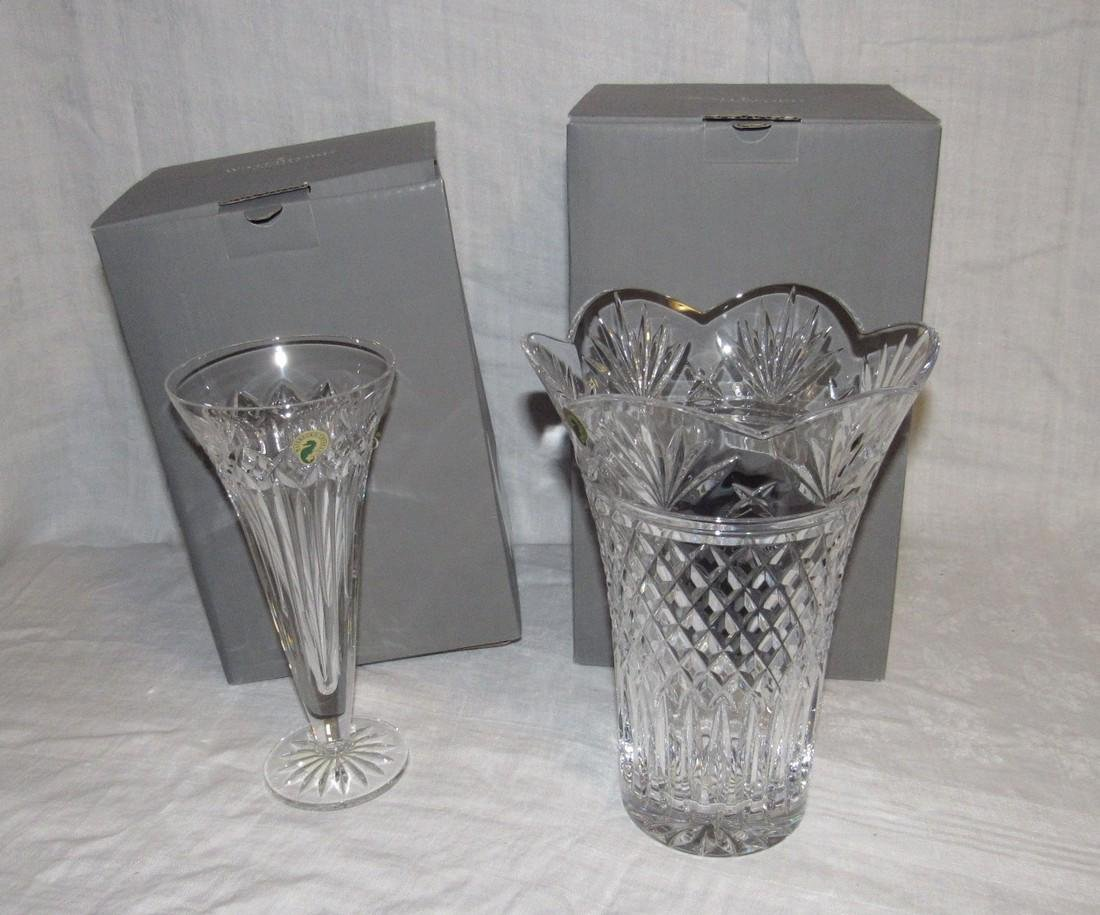 "Waterford Crystal 10"" Sierra Vase & Quinn Lane"