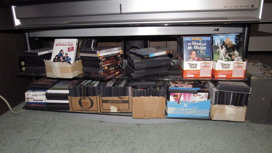 Large Lot of DVD's
