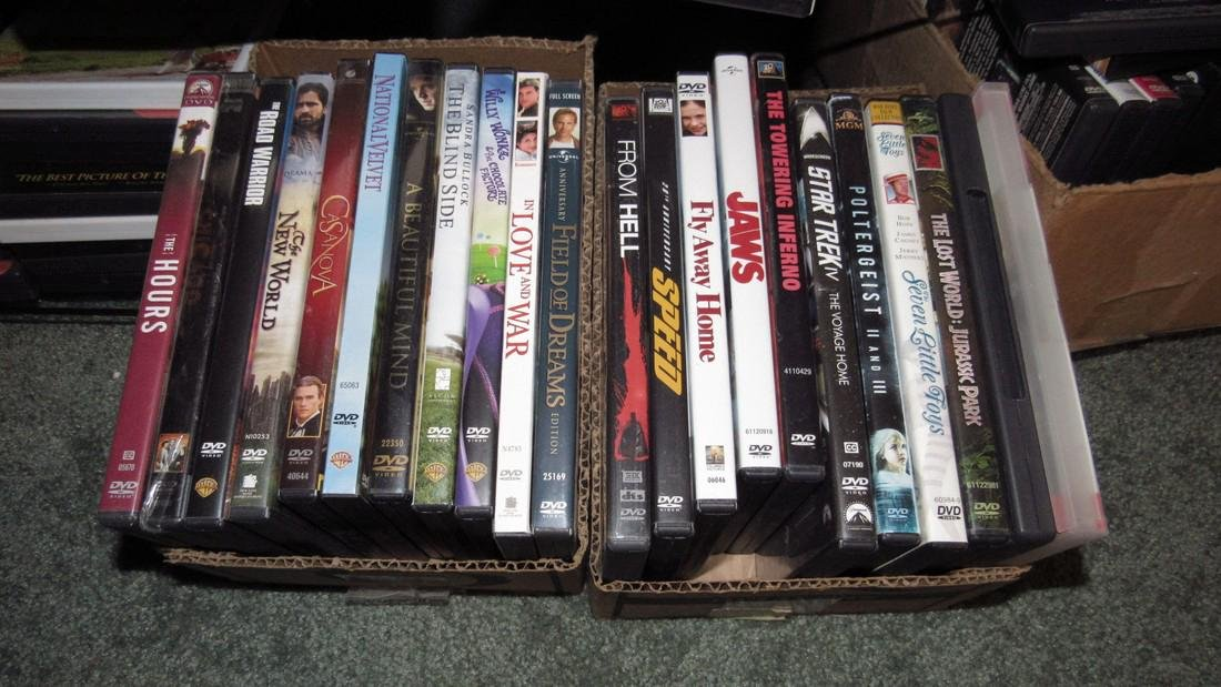 Large Lot of DVD's - 3