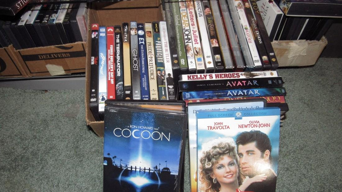 Large Lot of DVD's - 4