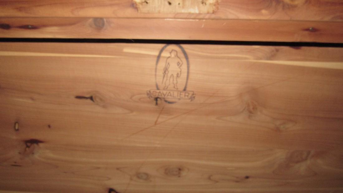Cavalier Cedar Chest & Contents - 2