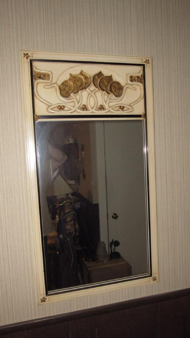Mirror Van Sciver Syroco Pine Apple Sconce - 2