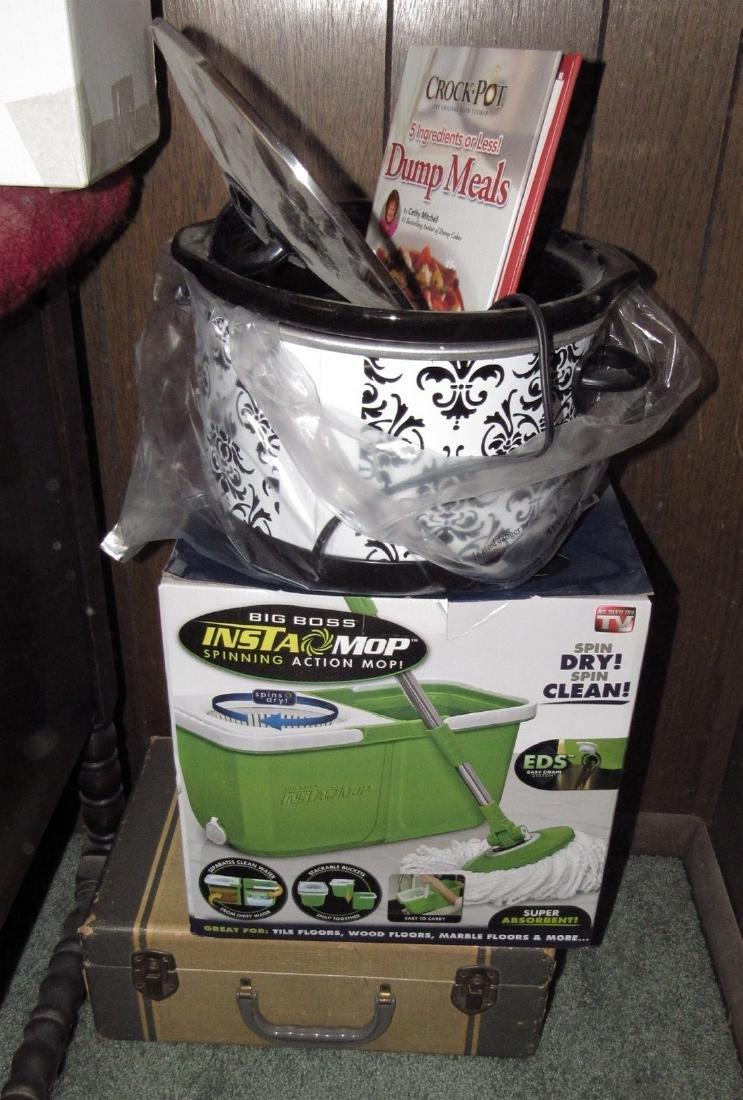 Slow Cooker Insta Mop Food Saver Vacuum Sealer