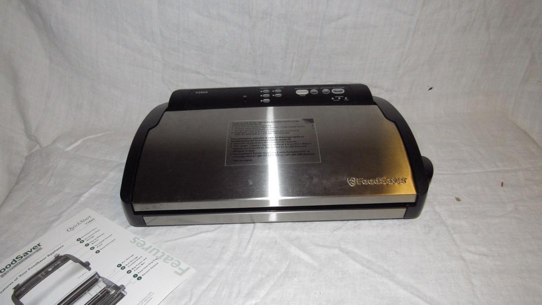 Slow Cooker Insta Mop Food Saver Vacuum Sealer - 4