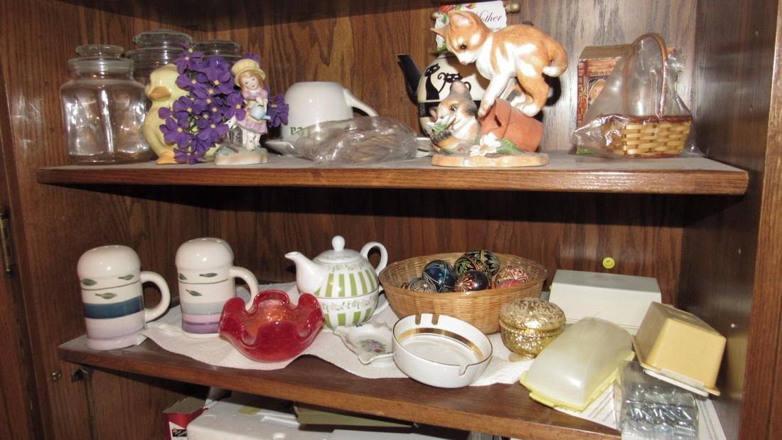 Hallmark Gail Feretti Knick Knacks Candle Lot - 4