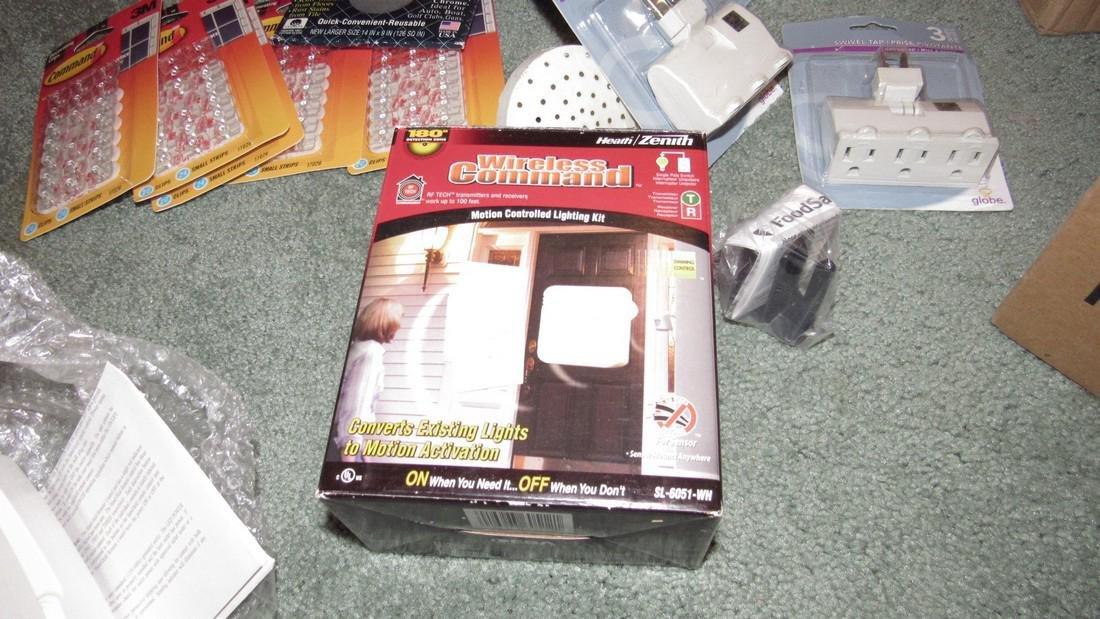 Wireless Comman Super Switches Plugs Lot - 4