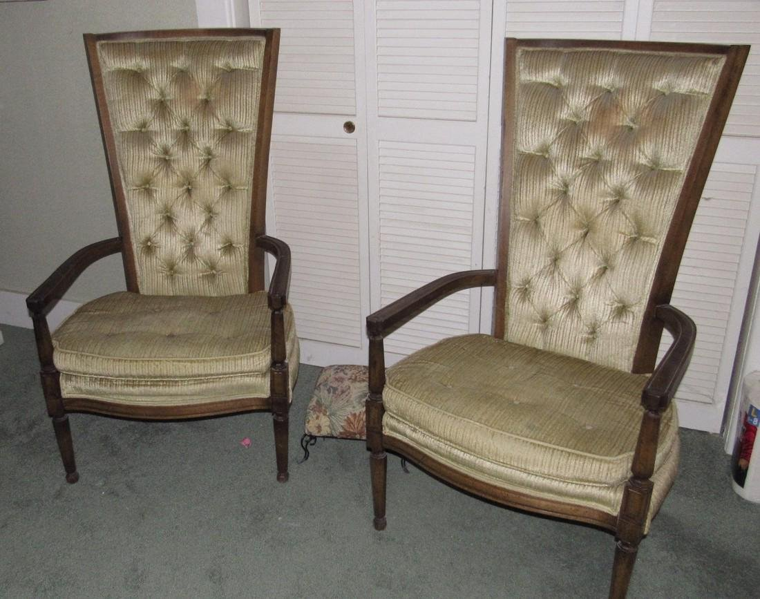 2 Upholstered Arm Chairs - 5