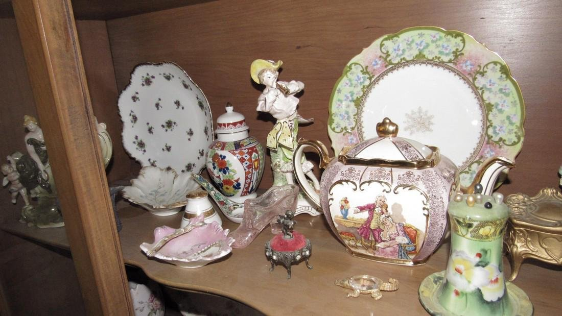 Contents of Hutch Stick Pin Holder Knick Knacks - 8