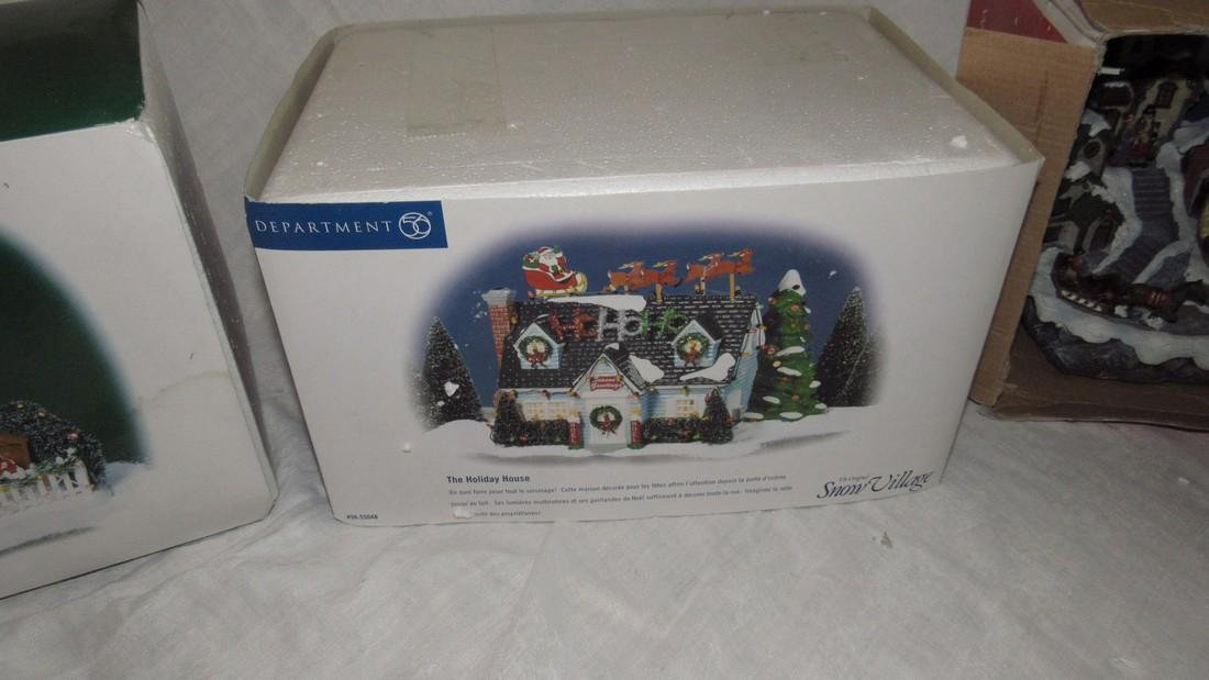 Department 56 Festive Front Yard Holiday House - 3