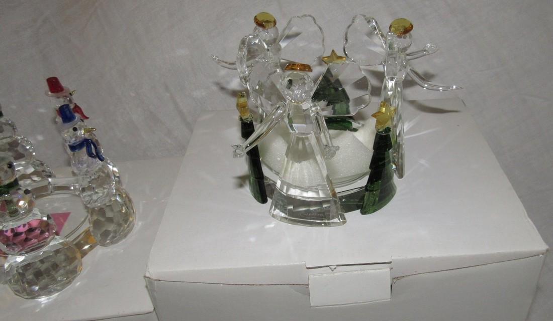Sorelle Crystal Christmas Figurines - 3