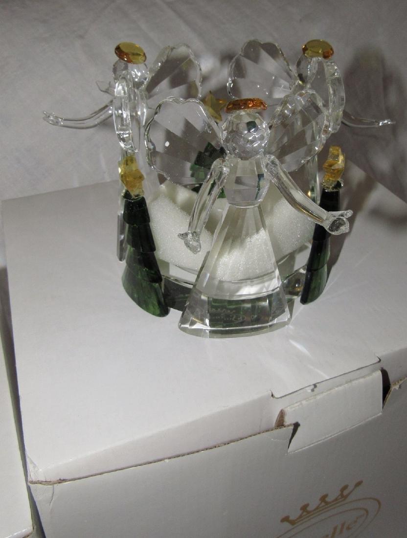 Sorelle Crystal Christmas Figurines - 5