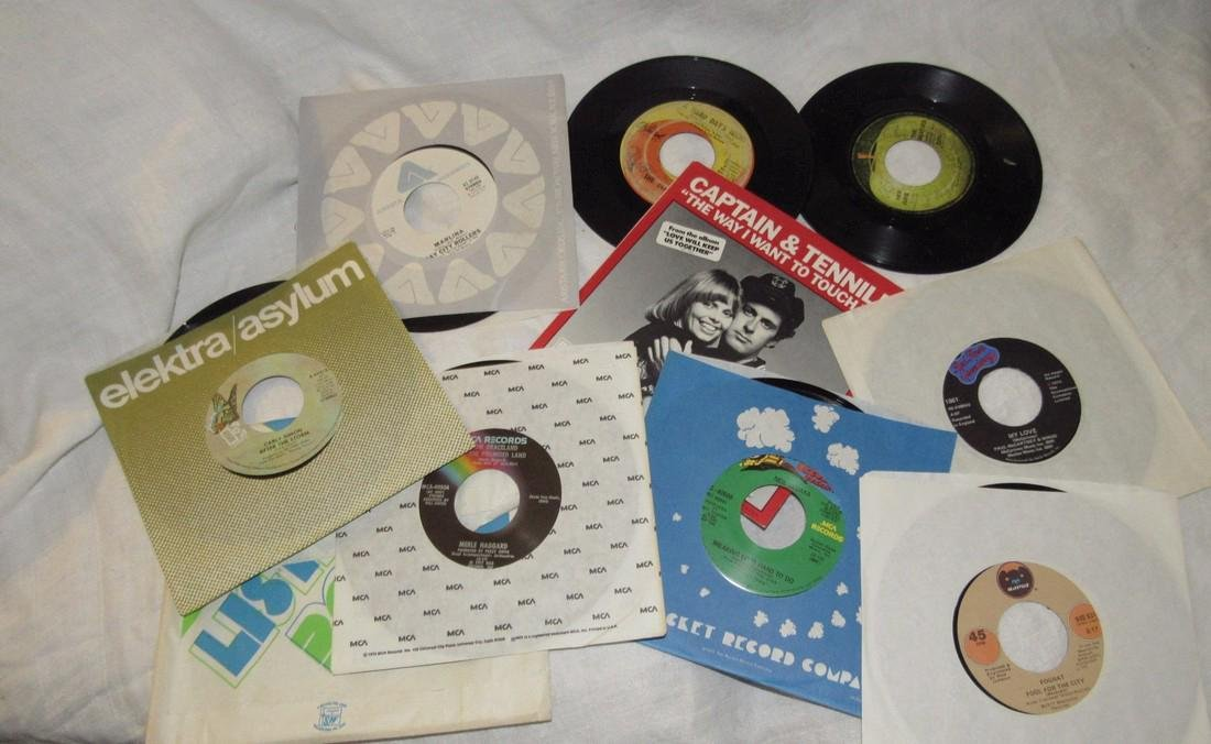 Lot of 45 Records Beatles Paul McCartney