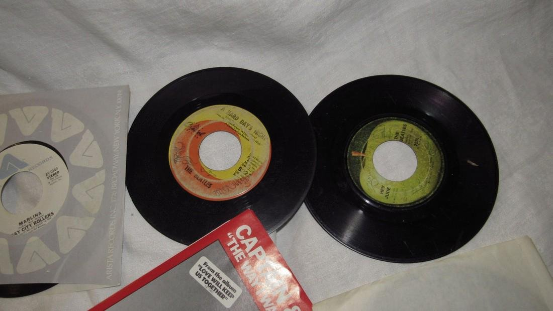 Lot of 45 Records Beatles Paul McCartney - 5