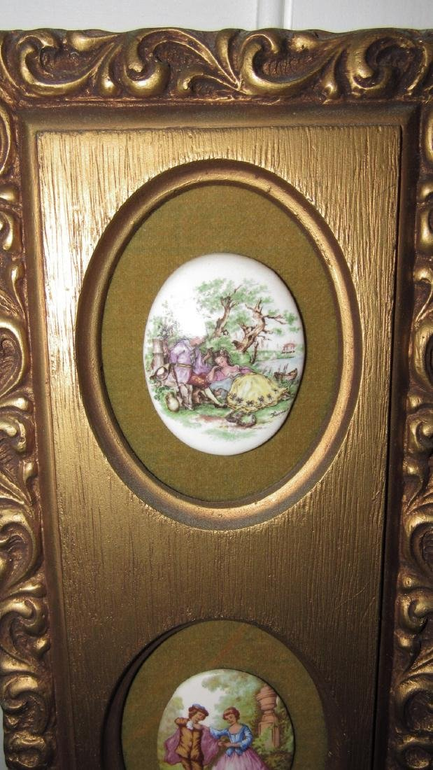 Victorian Porcelain Wall Hangings - 2