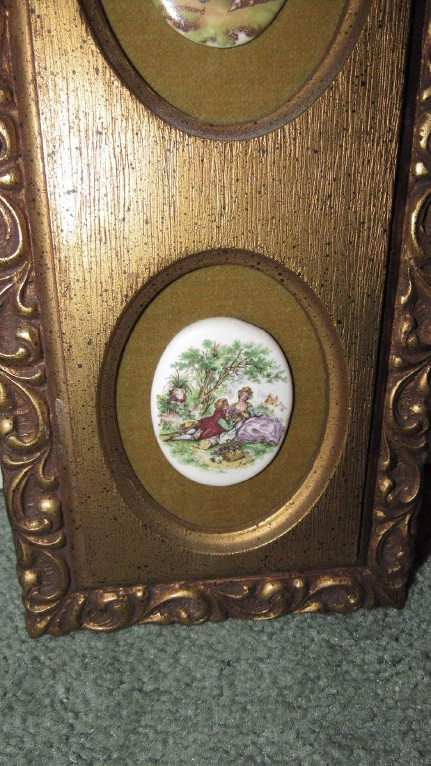 Victorian Porcelain Wall Hangings - 3