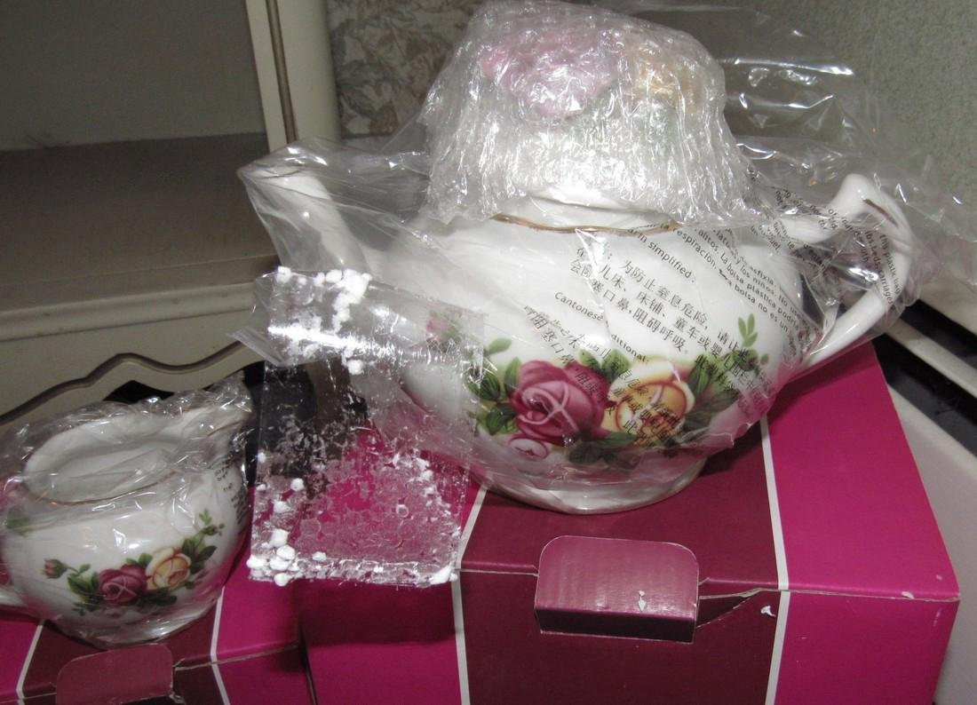 Royal Albert Old Country Roses Creamer Teapot - 2