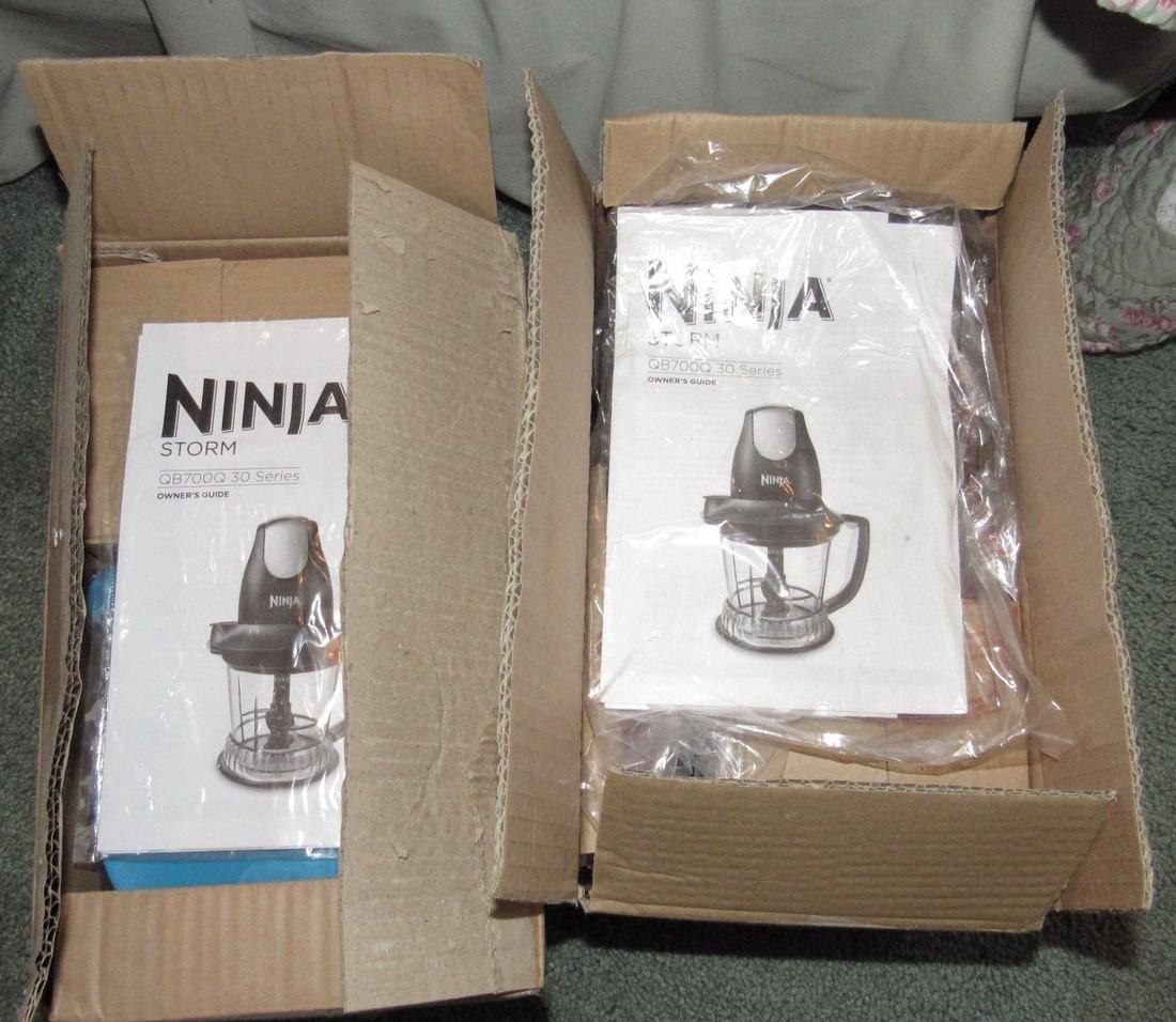 2 Ninja Storm QB700Q 30 Series Blenders