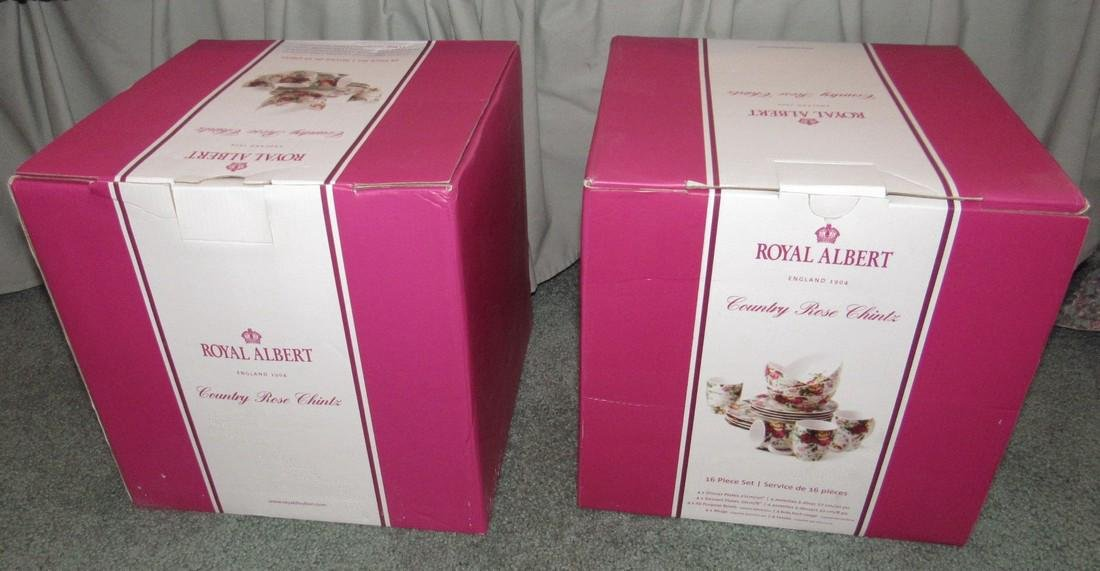 Royal Albert Country Rose Chintz Dinnerware