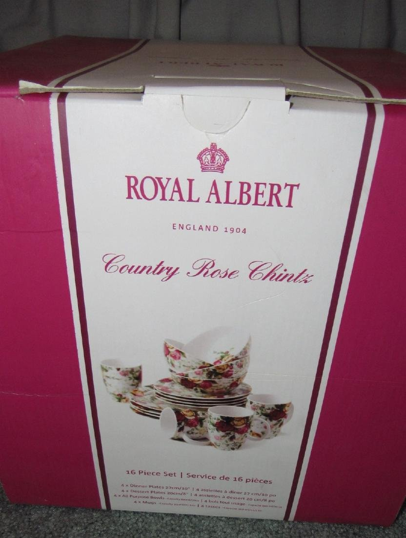 Royal Albert Country Rose Chintz Dinnerware - 2