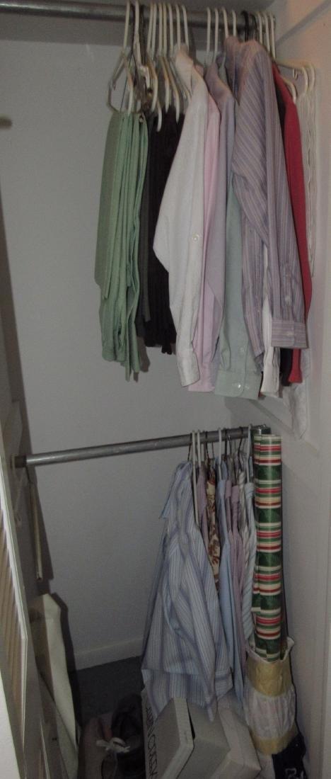 Closet Contents Clothing Shirts Jackets