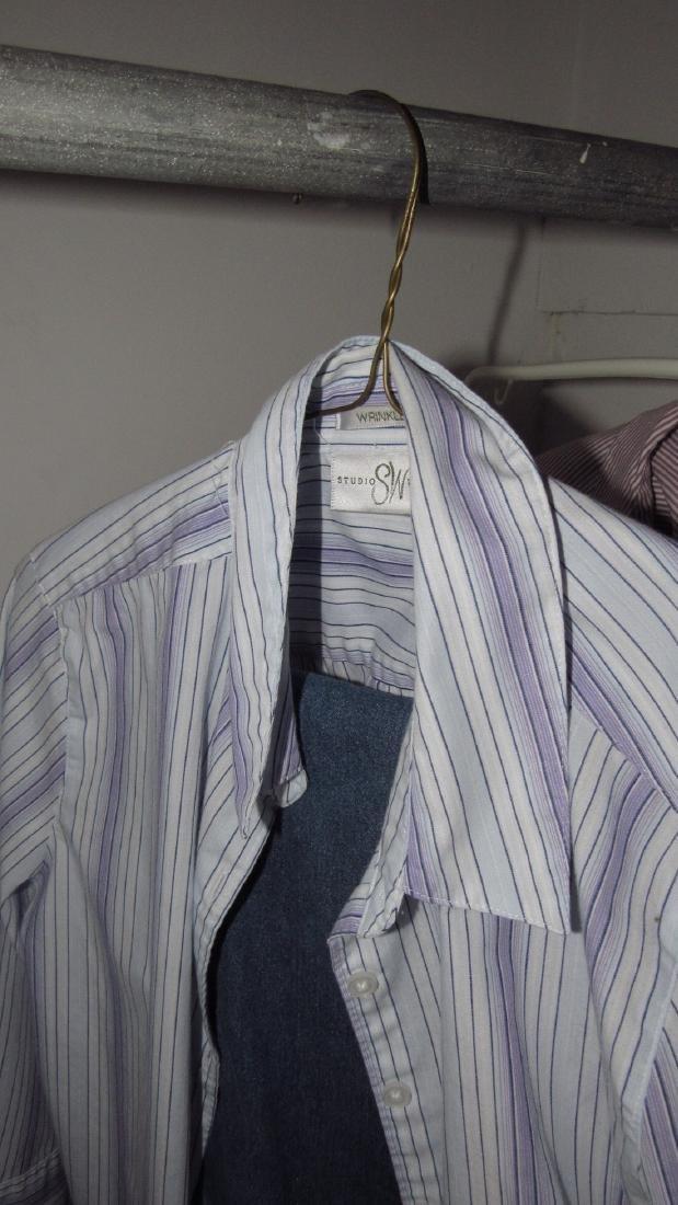 Closet Contents Clothing Shirts Jackets - 3