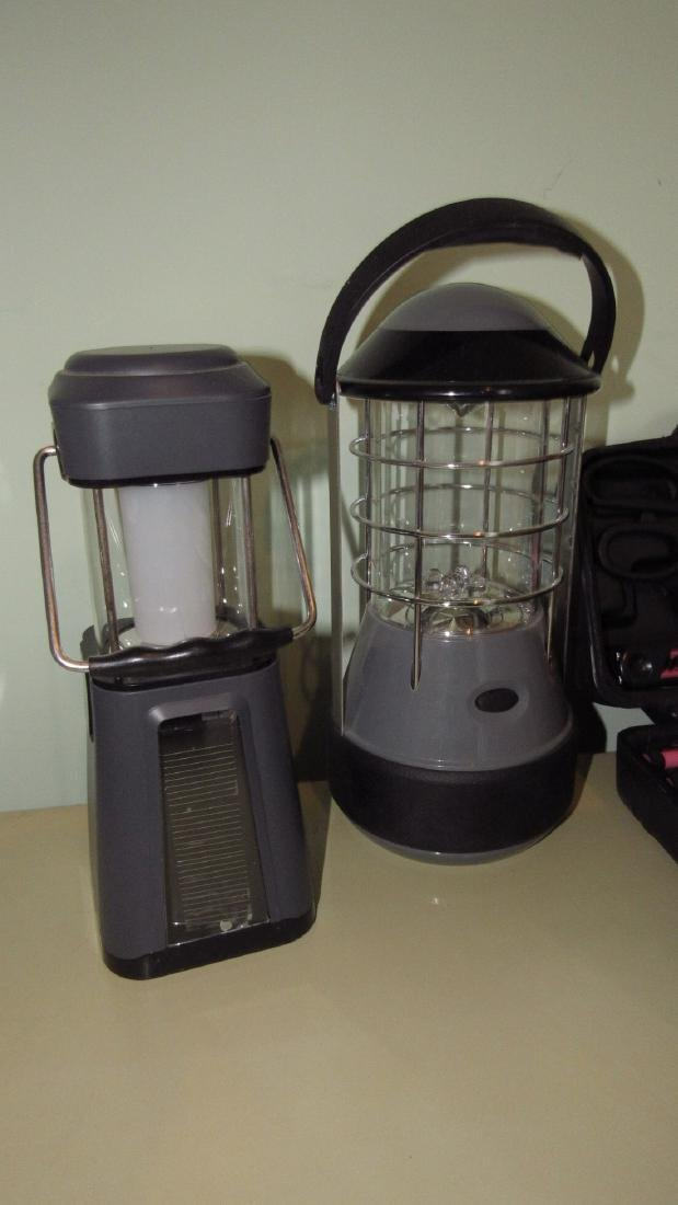 Tool Set Outdoor Light & Battery Operated Lamps - 2