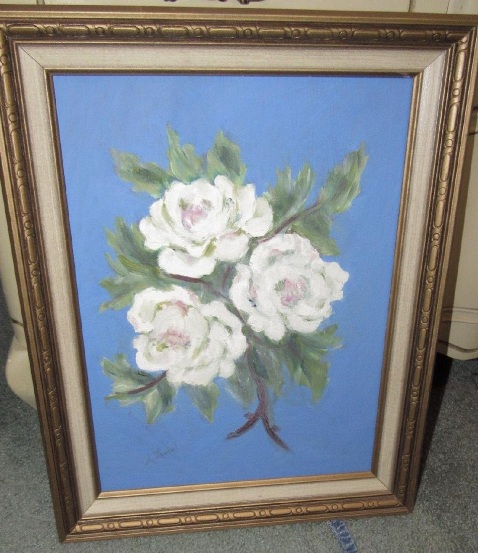 A Leven Floral Flower Painting