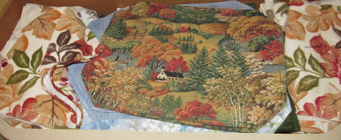 Placemats Table Clothes & Towls