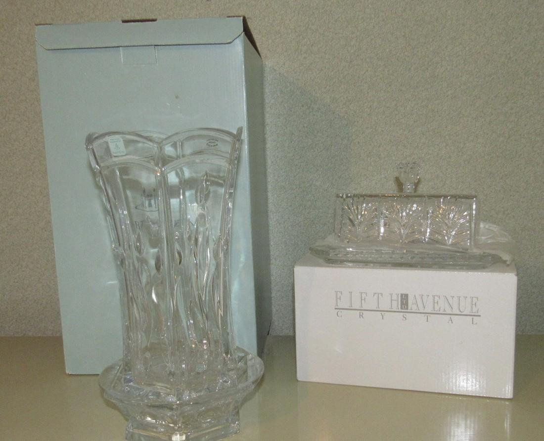 Party Lite Lead Crystal Candle Holder
