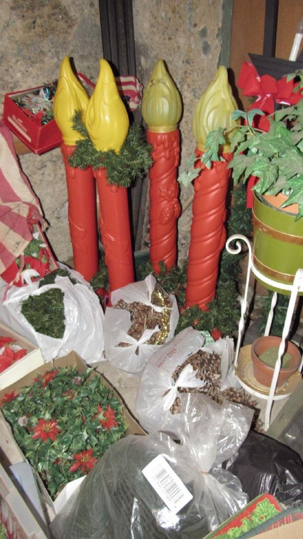 Large Lot of Christmas Decorations - 4
