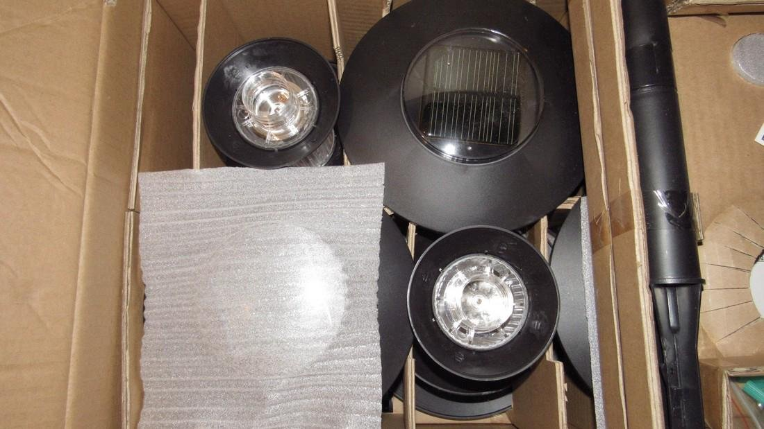 Set of 8 Solar Lights in Box - 3