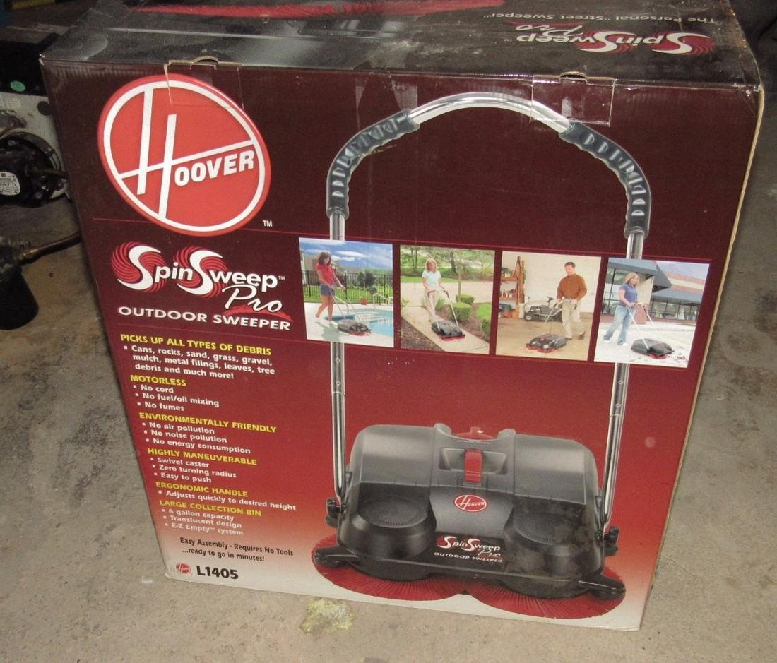 Hoover Spin Sweep Outdoor Sweeper