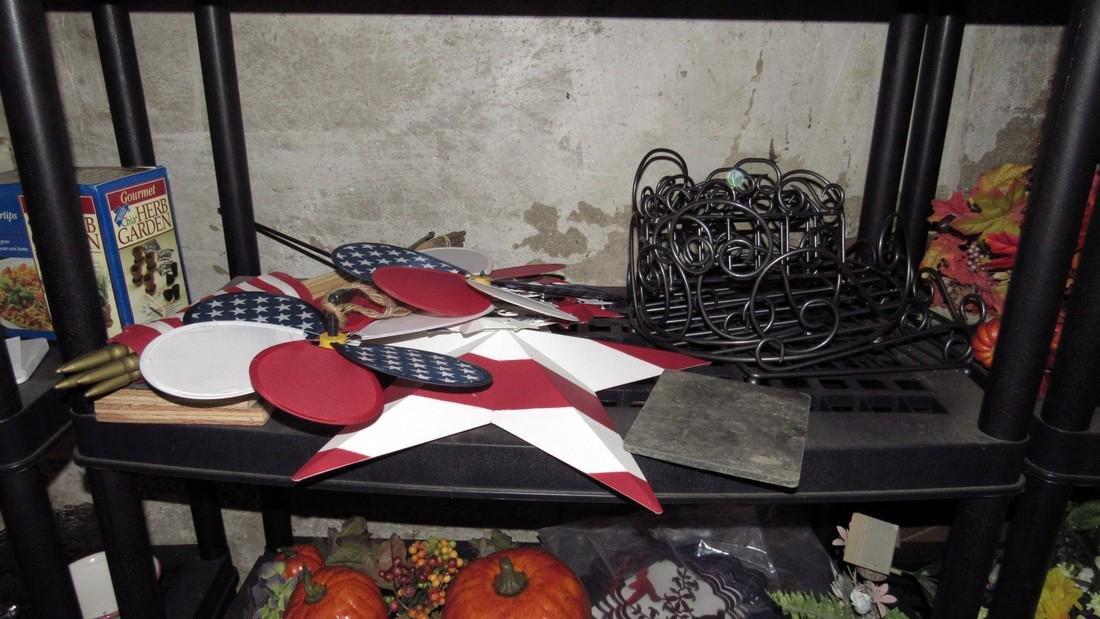 Crafts Artificial Flowers Halloween Lot - 3