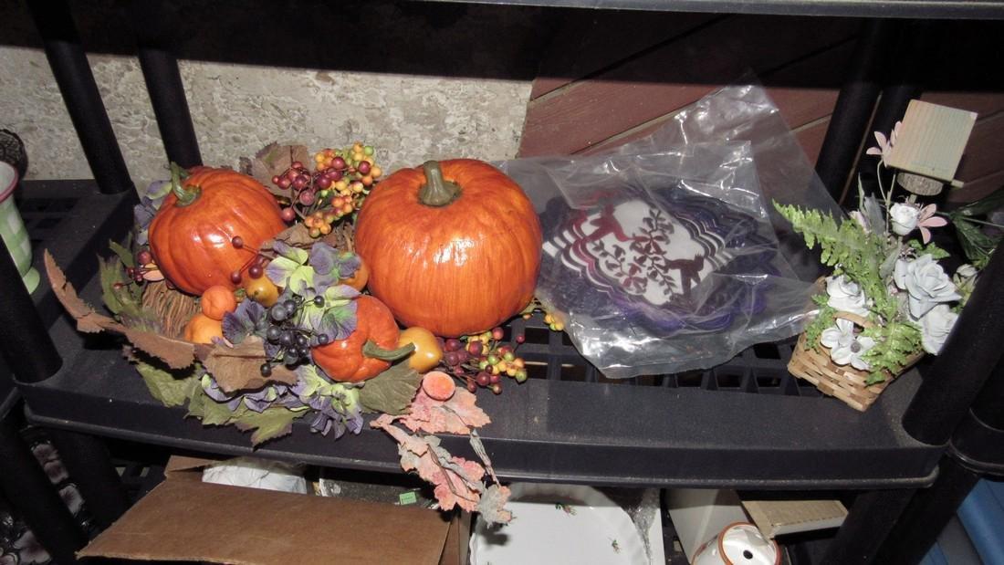 Crafts Artificial Flowers Halloween Lot - 4