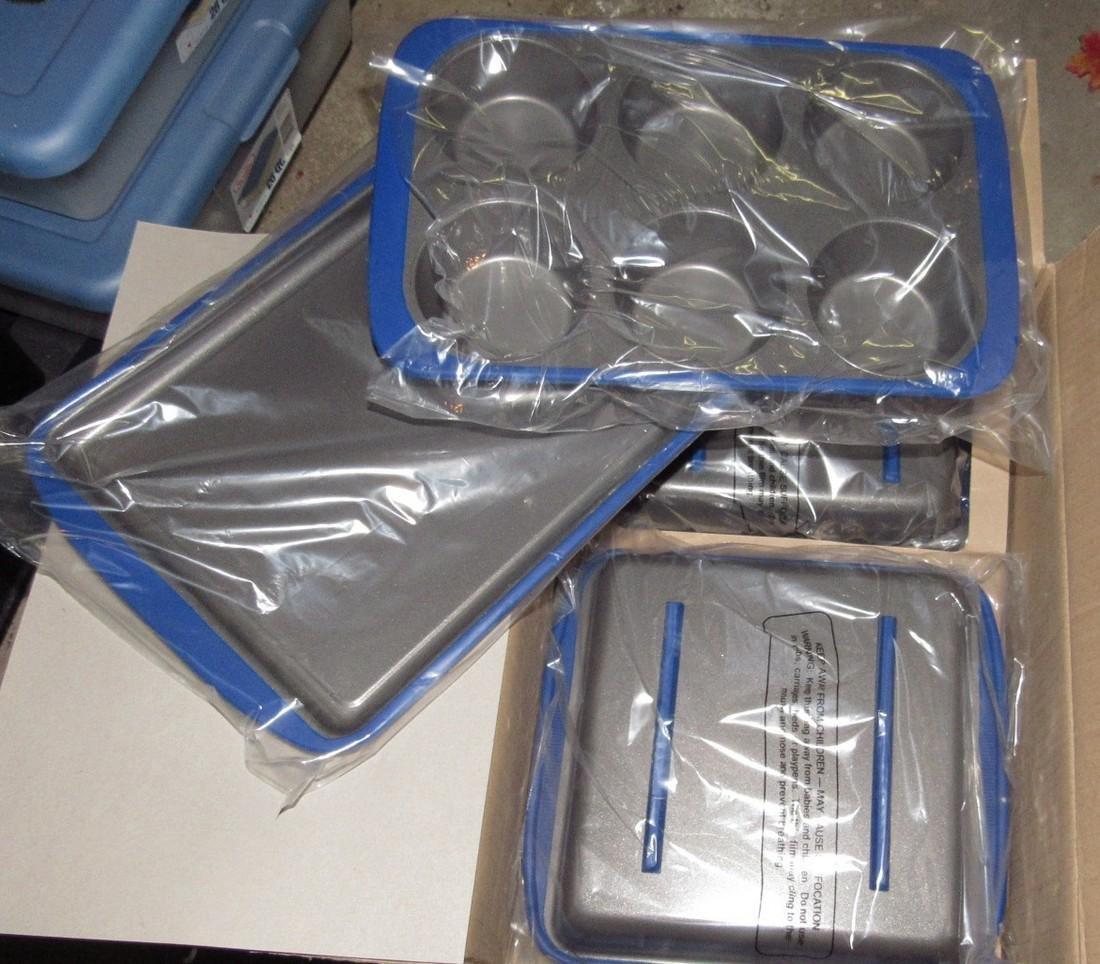 2 Technique 6 Piece Non Stick Bakeware Sets - 2