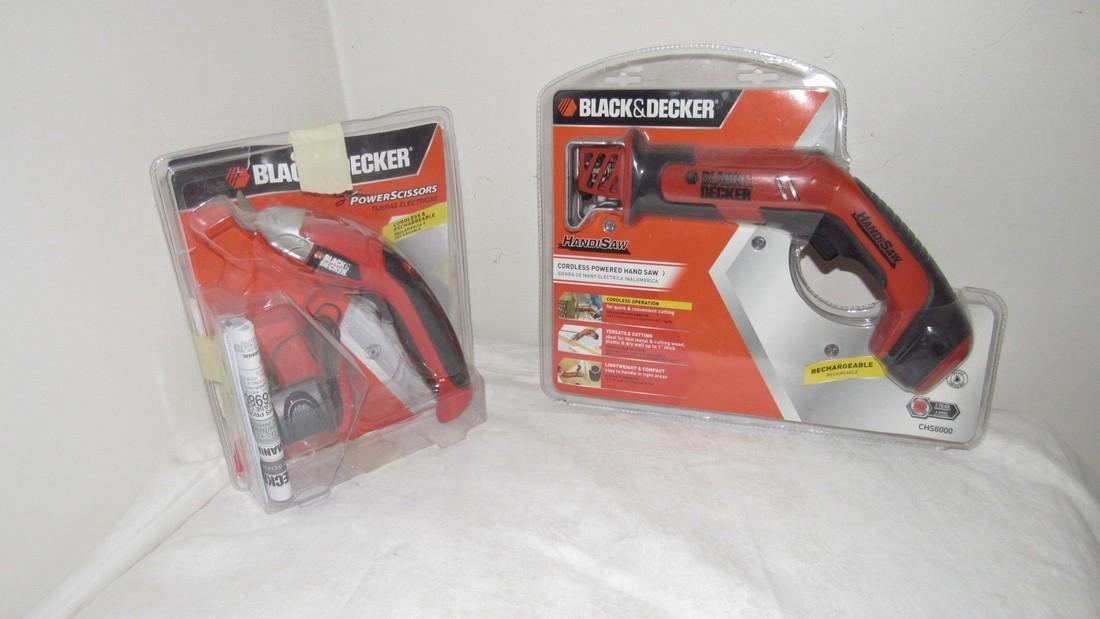 Black & Decker Handi Saw & Power Scissors