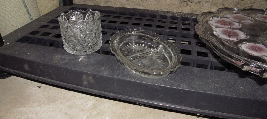 2 Shelves of Glassware - 6