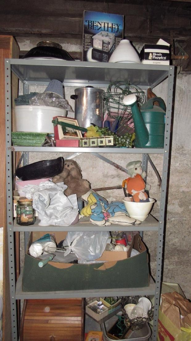 Shelf Lot of Misc.
