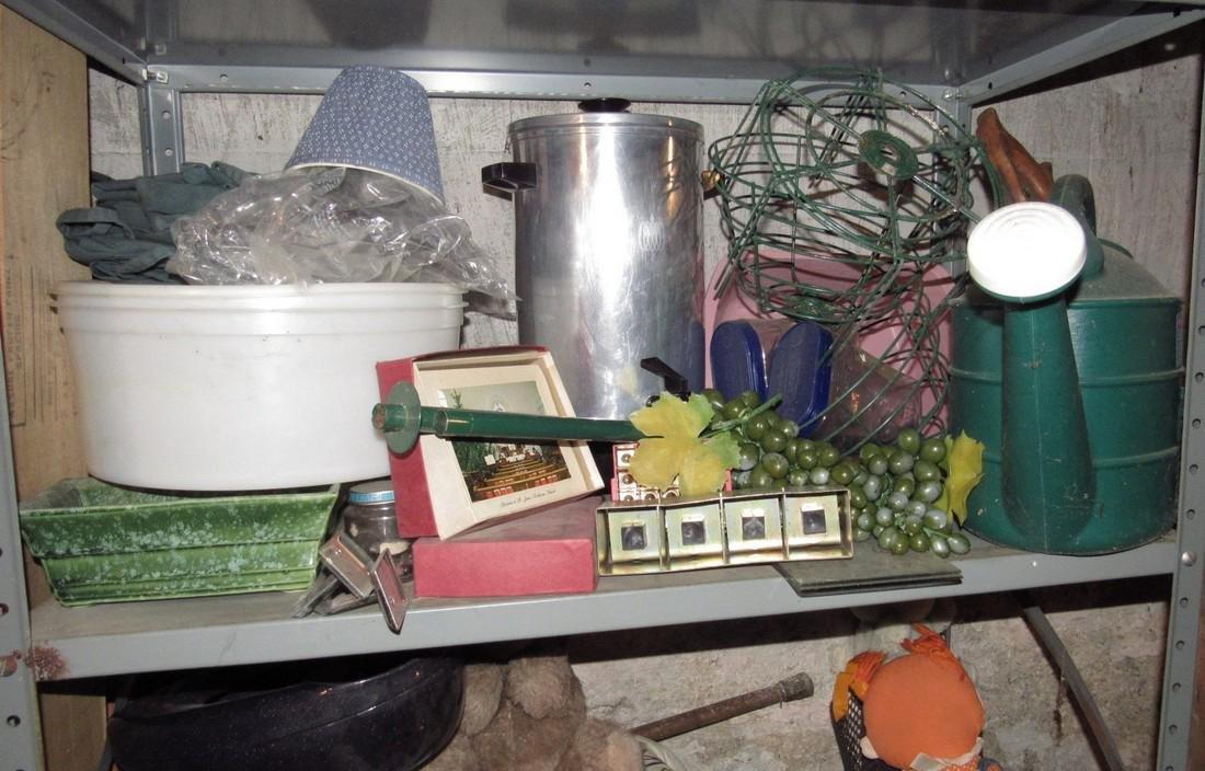 Shelf Lot of Misc. - 3