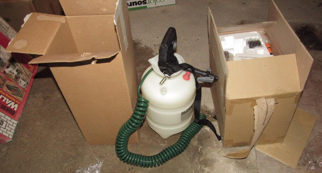 Cordless 14.4 Volt Sprayer and Pro Plus Sprayer