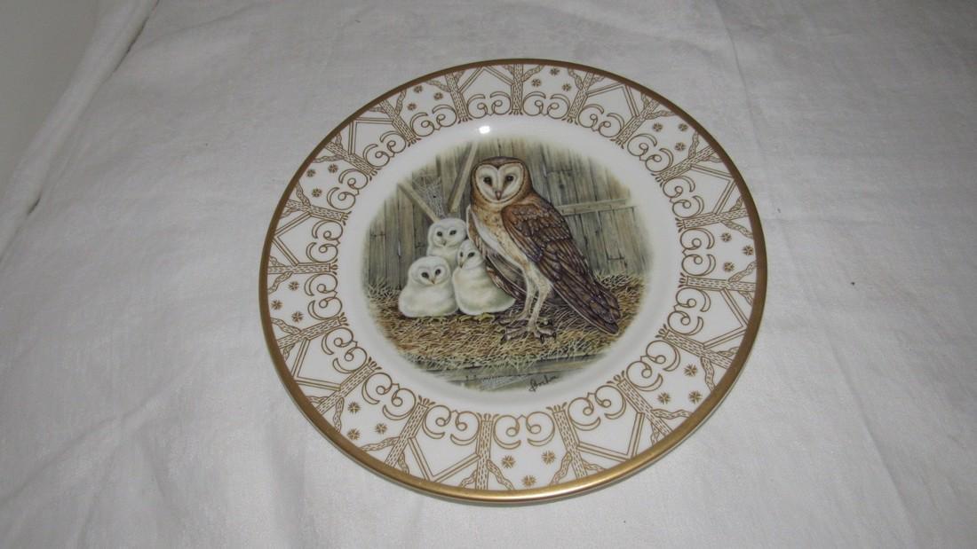 Edward Marshall Boehm Barn Owl Plate
