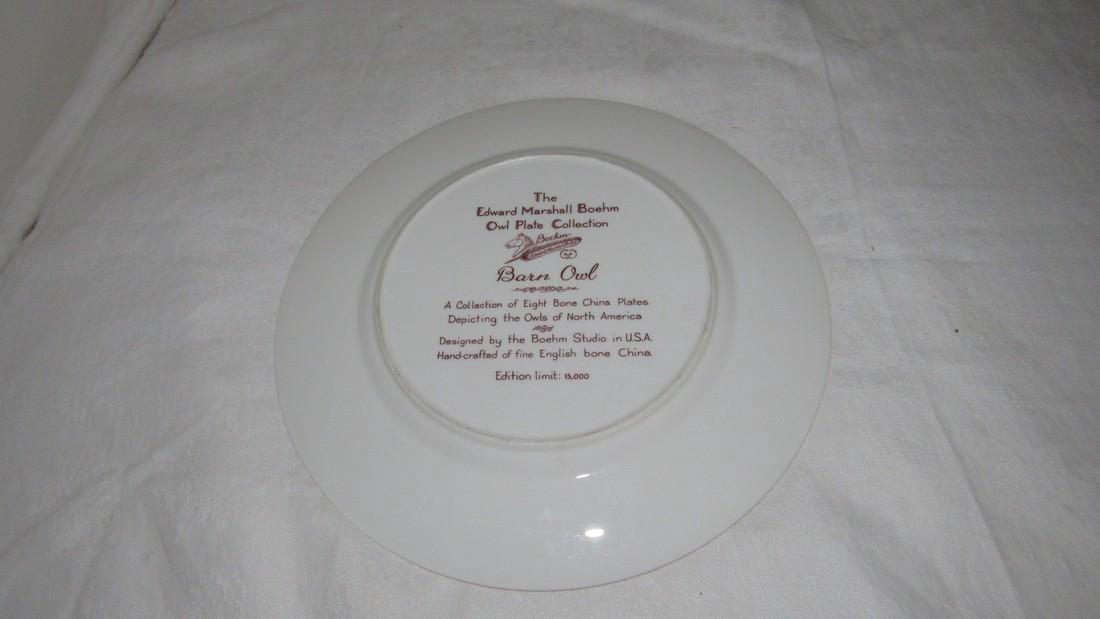 Edward Marshall Boehm Barn Owl Plate - 2