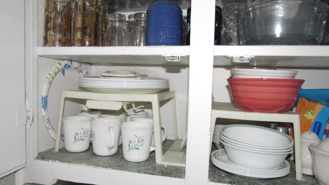 Contents of Kitchen Cabinet - 3