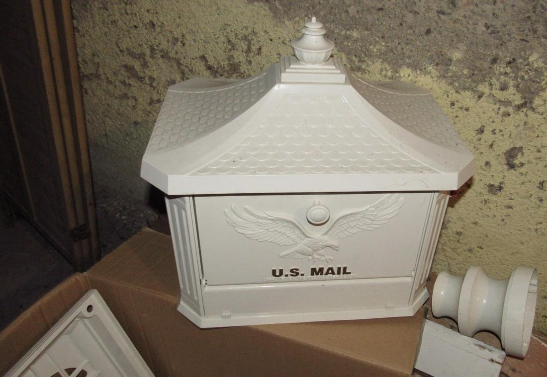 Pedestal Postal Service Security Mailbox - 2