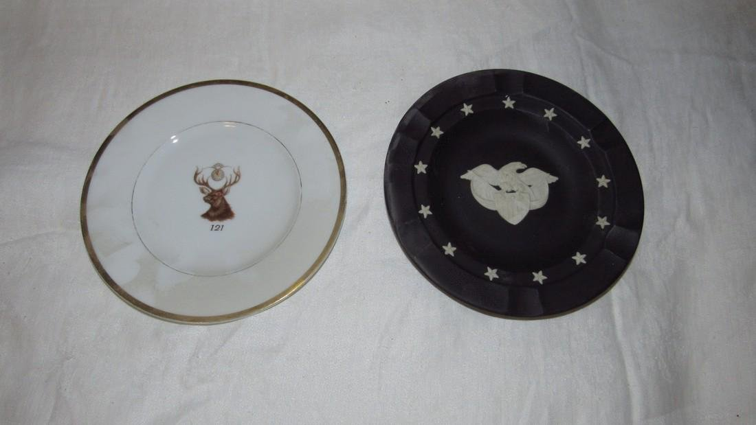 Wedgewood Centennial Ashtray & Masonic Plate